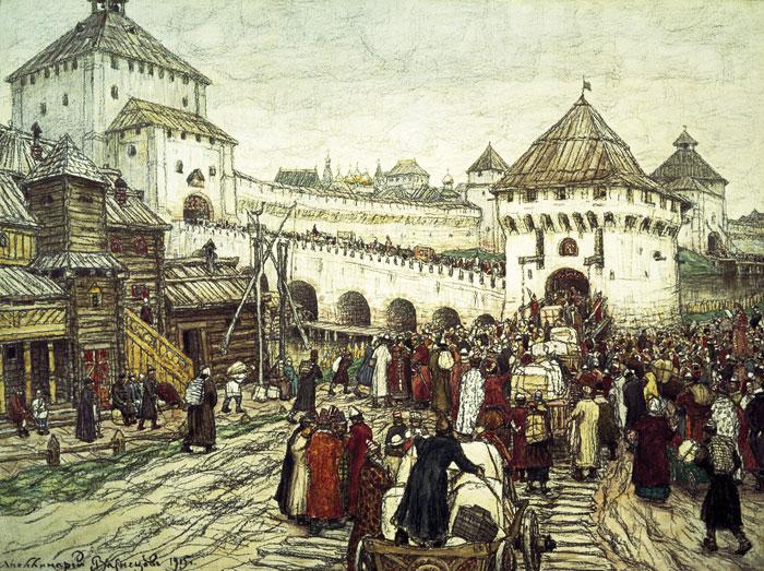 Белокаменный кремль. Стихи о древней Москве