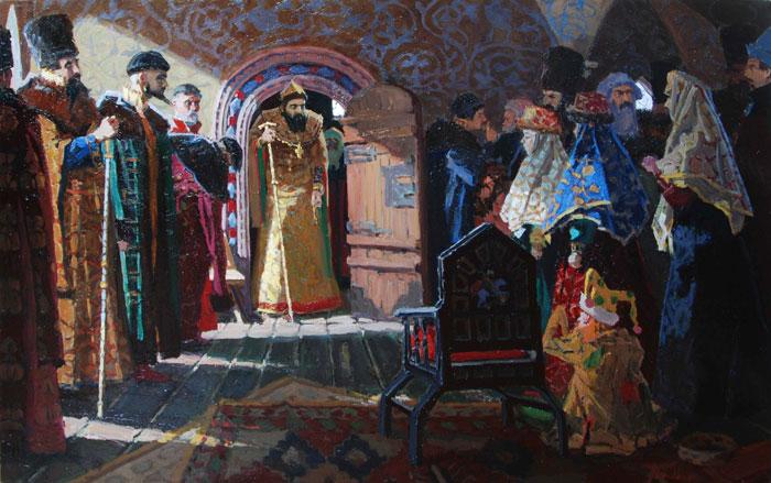Царь Иван Грозный. История в стихах