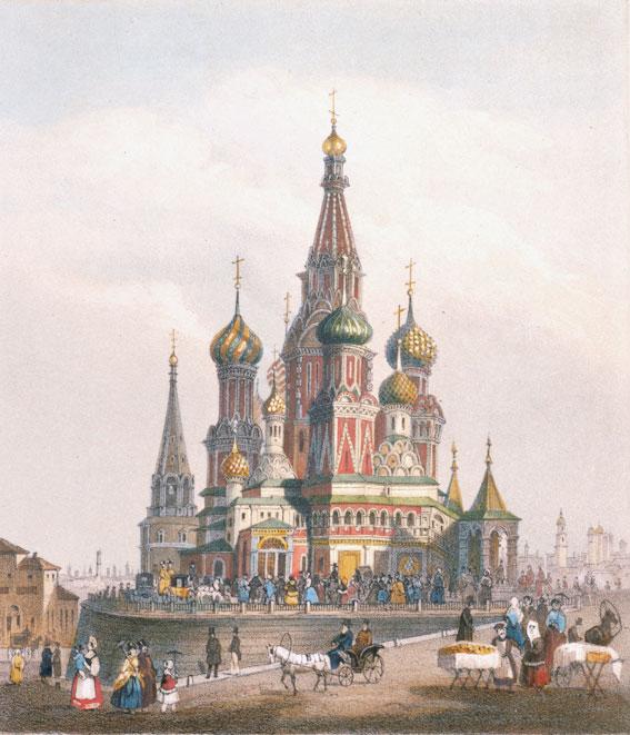 Стихи о храме Василия Блаженного