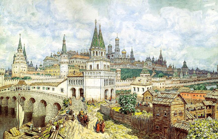 Стихи о Москве во времена Ивана Грозного
