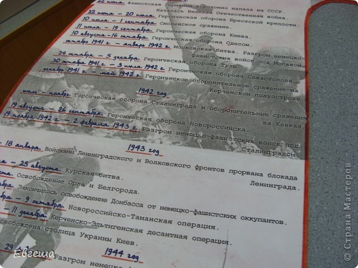 Деталь стенгазеты ко Дню Победы