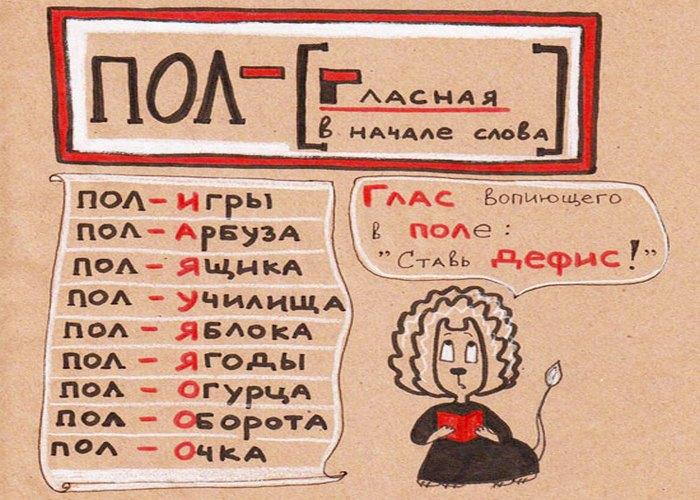 Прикольные картинки к русскому языку