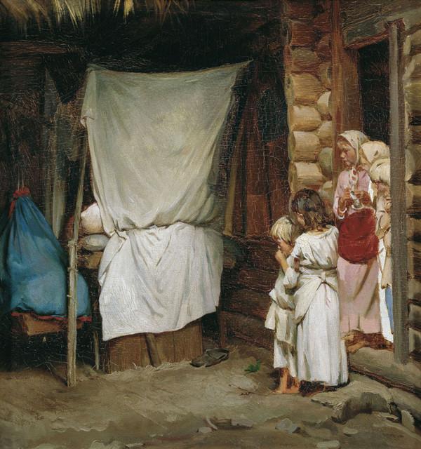 Лемох Кирилл Викентьевич. Новый член семьи. 1880-е