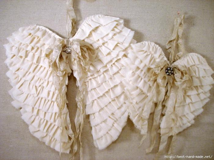 Как сделать крылья ангела в костюм