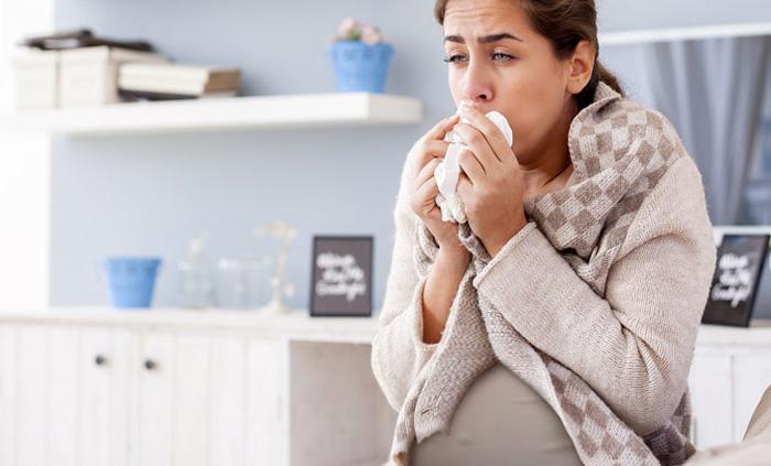 Сильный сухой кашель при беременности