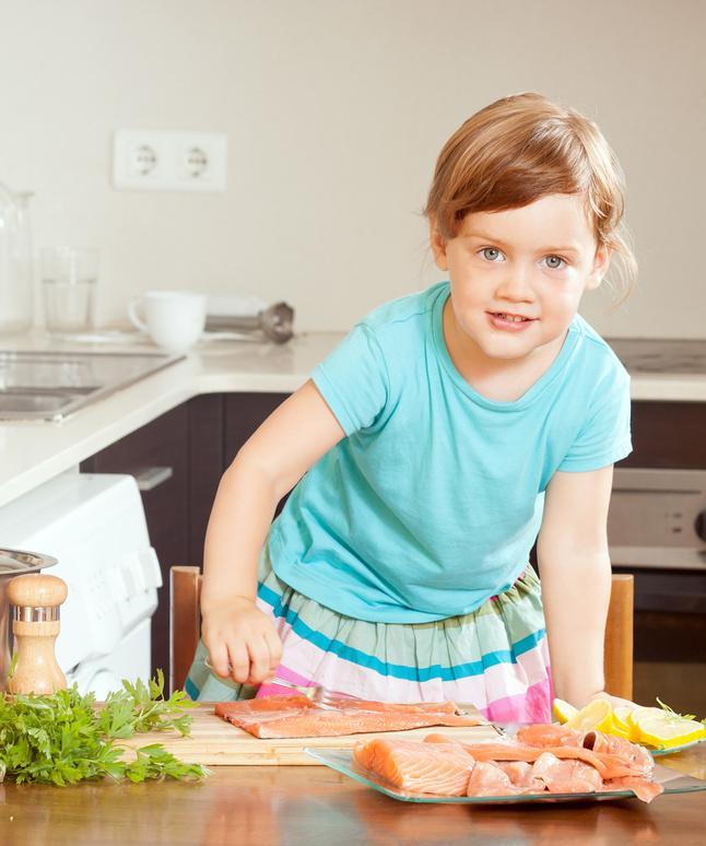 Ребенок не ест рыбу