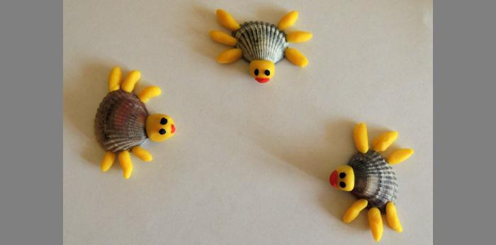Поделки ракушек своими руками детей