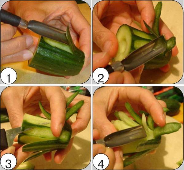 Карвинг из овощей и фруктов (50 фото) — Пошаговые инструкции