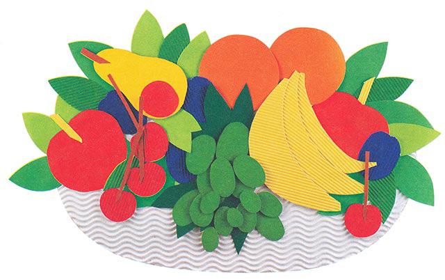 Рисунок фруктов на бумаге 25