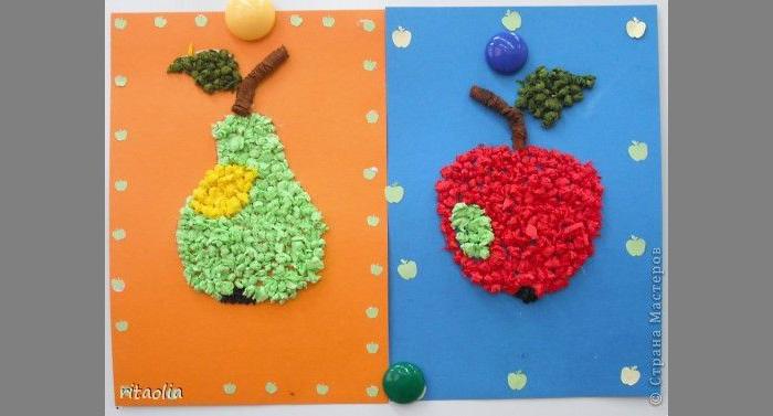 Поделки из овощей и фруктов - Адалин