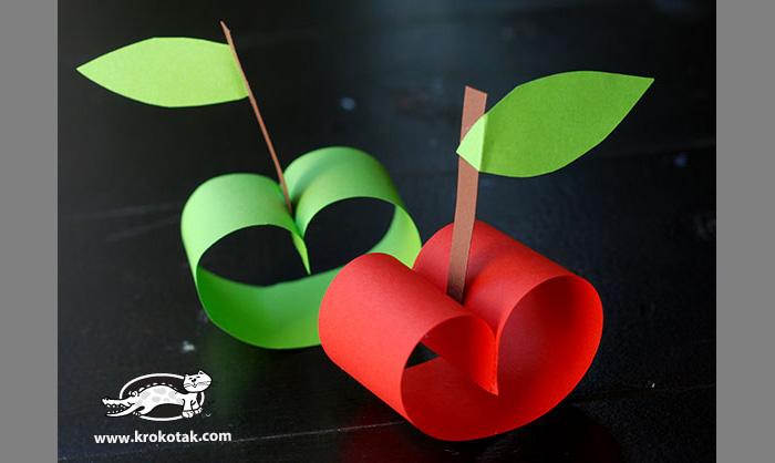 Как сделать своими руками яблоко
