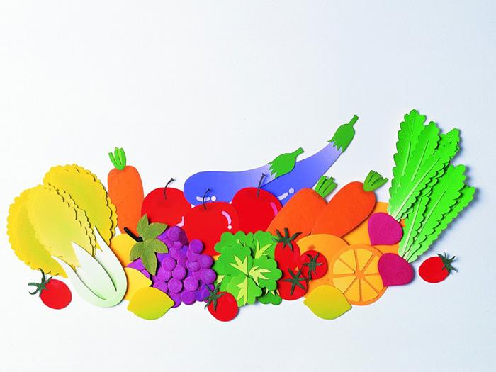 Рисунок фруктов на бумаге 76