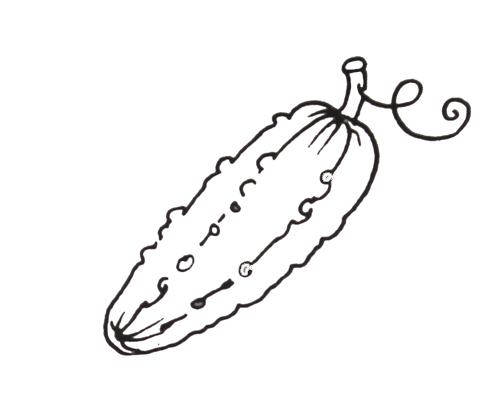 Шаблон для аппликации овощей и фруктов