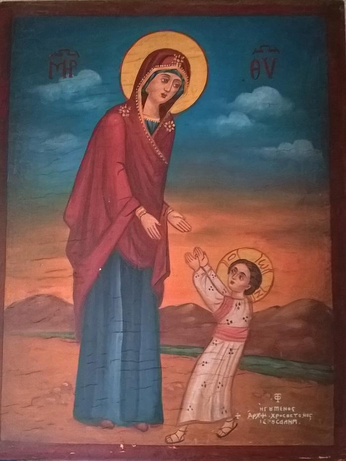 икона первые шаги иисуса христа в чем помогает влагалище время