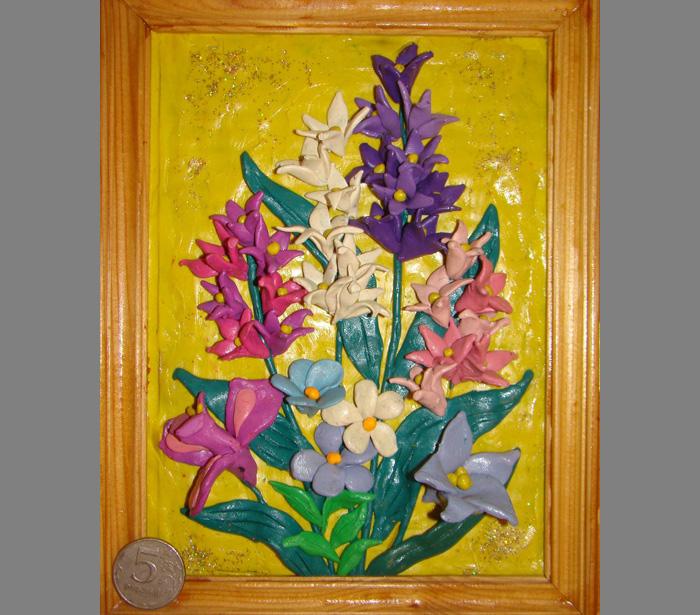 plastilin-1 Букет цветов из пластилина своими руками для детей 5-6 лет