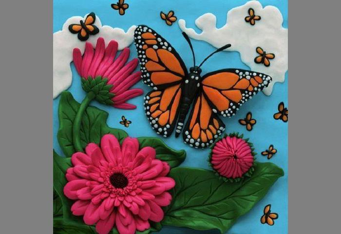 plastilin-11 Букет цветов из пластилина своими руками для детей 5-6 лет