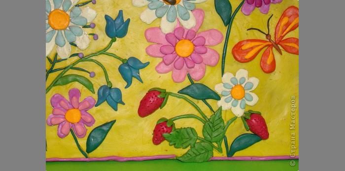 plastilin-16 Букет цветов из пластилина своими руками для детей 5-6 лет