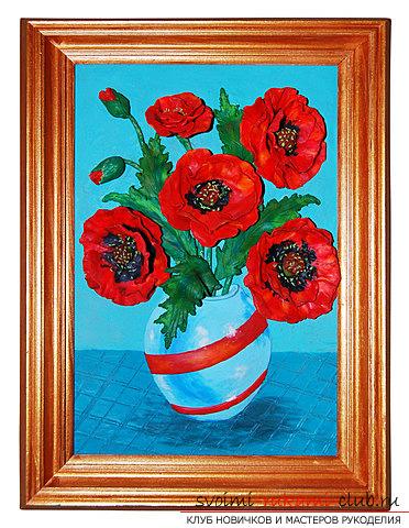 plastilin-5 Букет цветов из пластилина своими руками для детей 5-6 лет