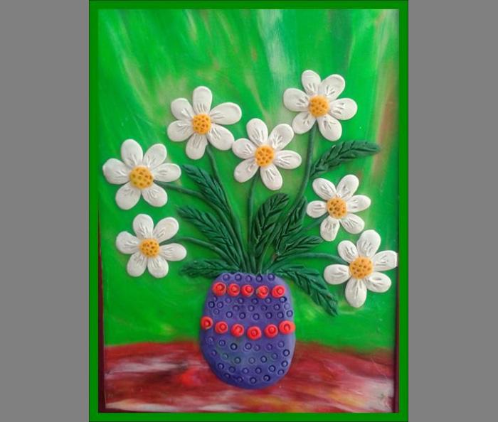 plastilin-6 Букет цветов из пластилина своими руками для детей 5-6 лет