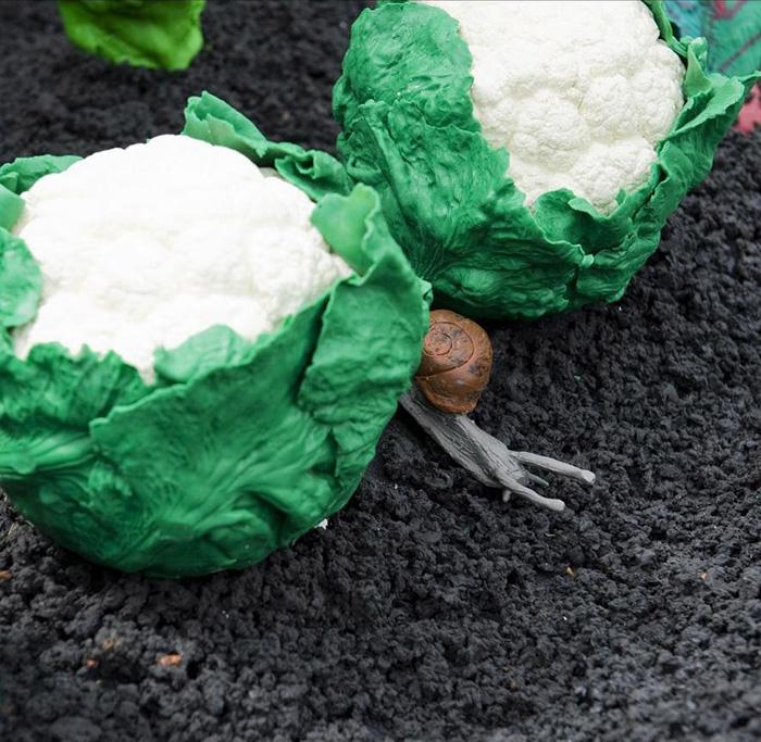 plastilinovy-sad-4 Букет цветов из пластилина своими руками для детей 5-6 лет