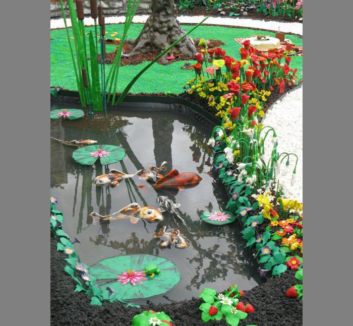 plastilinovy-sad-5 Букет цветов из пластилина своими руками для детей 5-6 лет