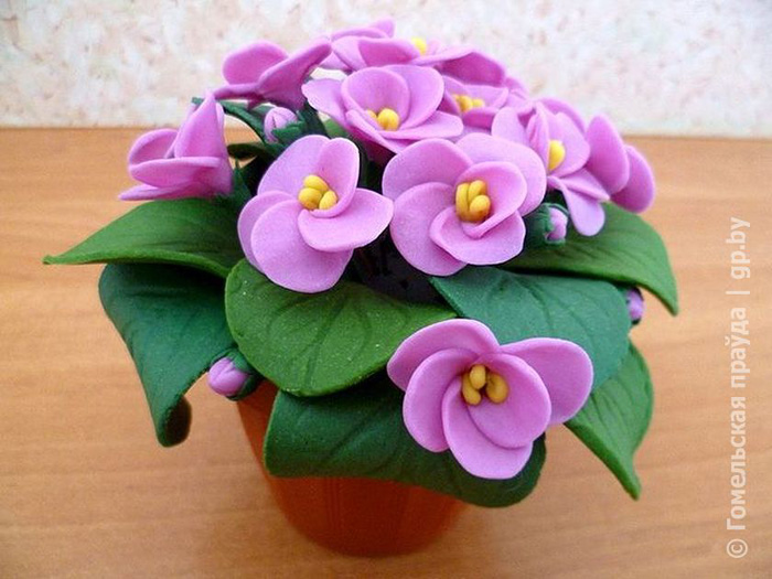 zvety-v-gorshkah-4 Букет цветов из пластилина своими руками для детей 5-6 лет