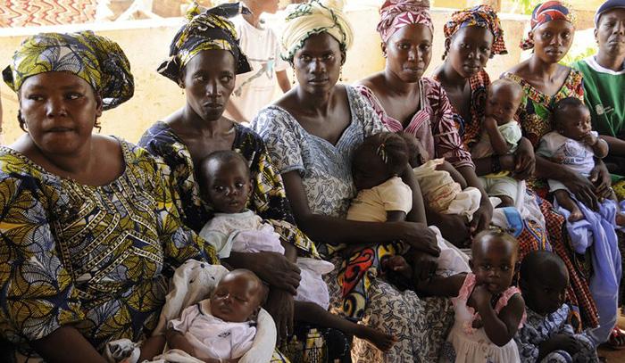 Женщины в Мали