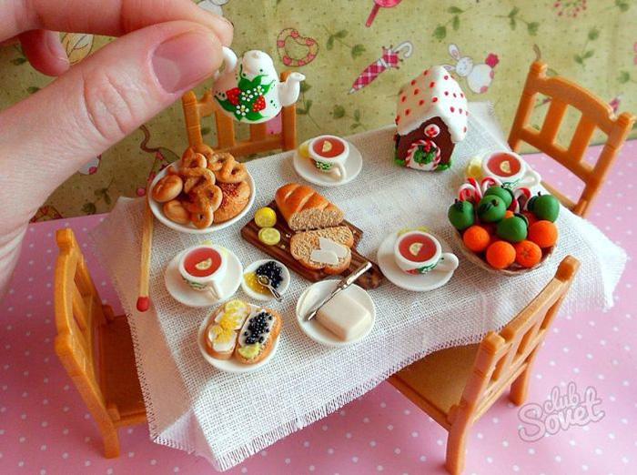 Еда для кукол своими руками. Как сделать еду для кукол 32
