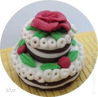 торт из пластилина фото