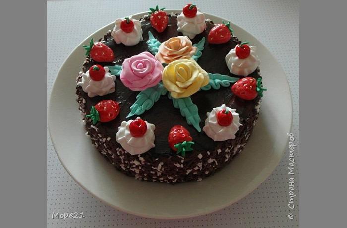 Как сделать поделку торт из пластилина 19