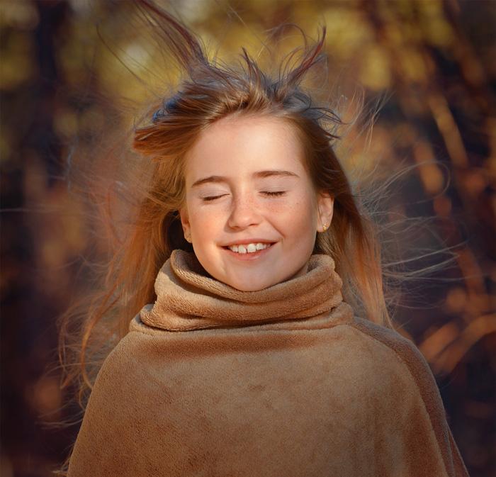 Девочка изобрела косметику для волос