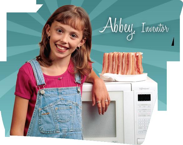 Девочка придумала способ приготовления бекона