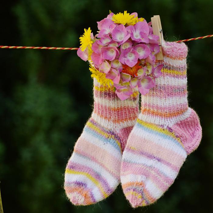 Дошкольник - дизайнер носков
