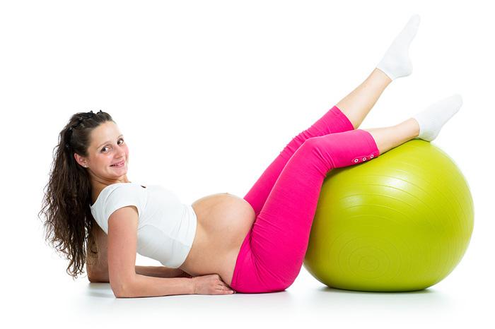 Для беременных занятия на мяче для 32