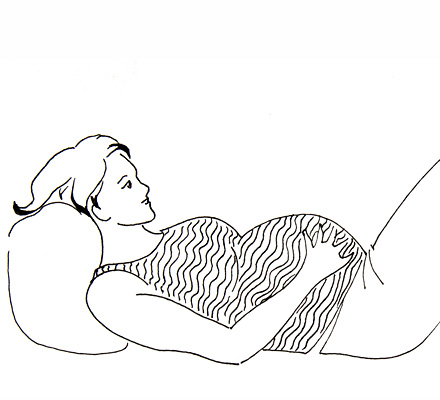 Абсолютно короткая пуповина при родах