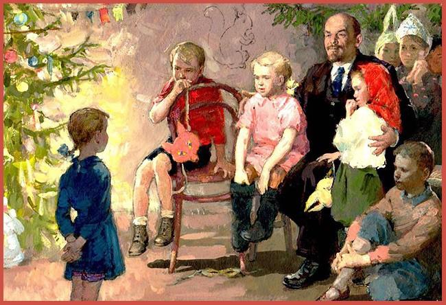 Ленин у ребят на елке