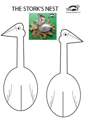 Аппликация птицы перелетные