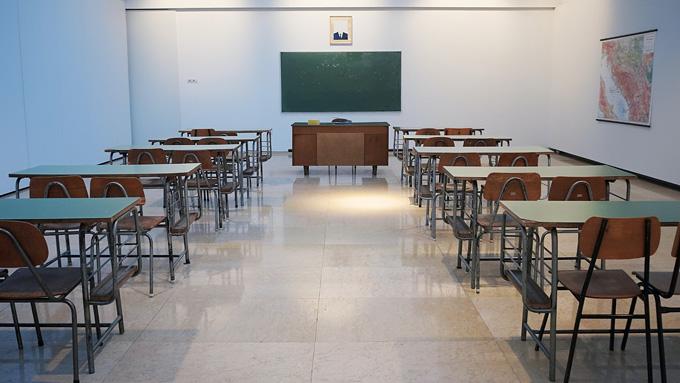 Класс перед экзаменом