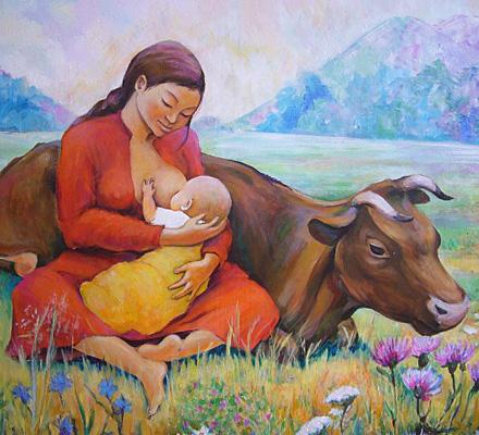 Диета матери во время лактации