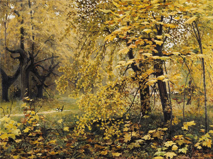 Стихи русских поэтов про золотую осень