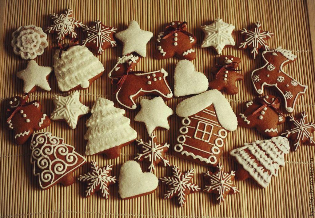 рецепт рождественских пряников печенья