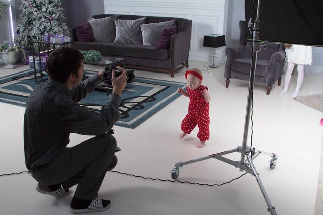 Детский праздник в фотостудии. Необычный день рождения