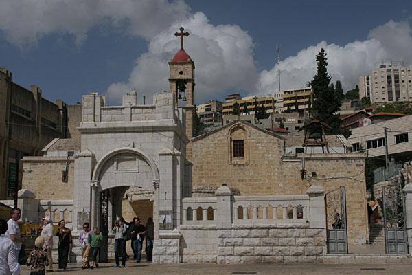 Греческая церковь Архангела Гавриила в Назарете