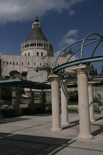 Католический собор Благовещения в Назарете