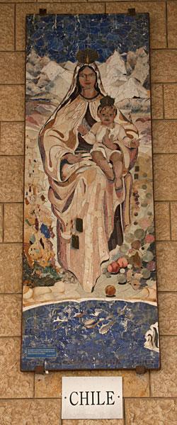 Икона Божией Матери. Чили