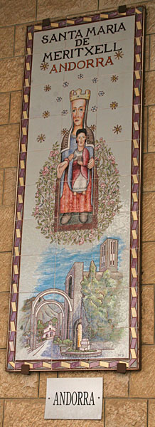 Икона Божией Матери. Андорра