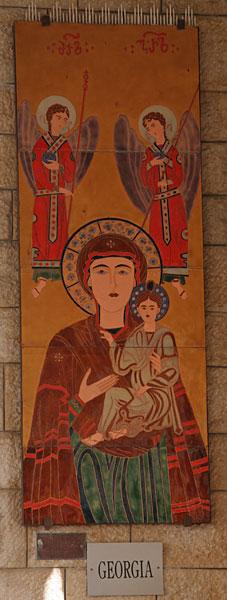 Икона Божией Матери. Грузия