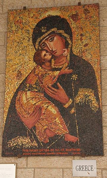 Икона Божией Матери. Греция