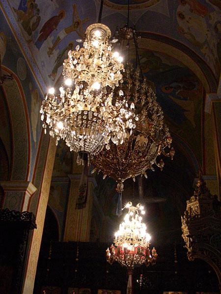 Паникадила церкви Архангела Гавриила в Назарете