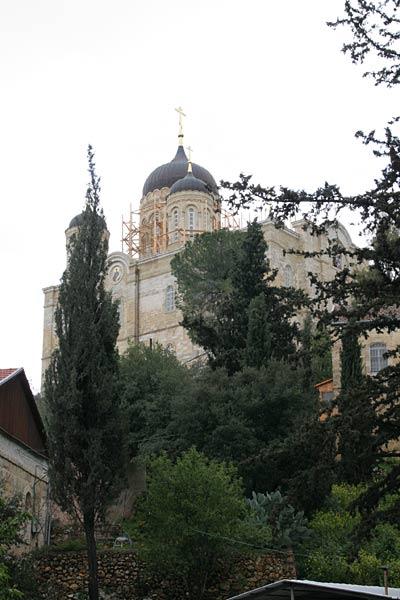 Горненский монастырь. Храм во имя Всех Святых, в земле Российской просиявших